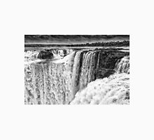 Iguazu Falls - Over the Edge - in Monochrome Unisex T-Shirt