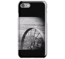 Cart wheel iPhone Case/Skin