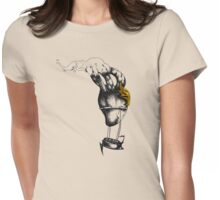 Heart of a Steampunk Womens Fitted T-Shirt