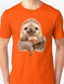 SLOTH & SOFT DRINK Unisex T-Shirt