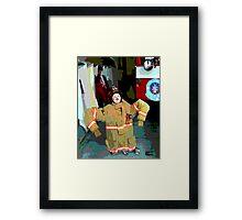 Wanna Be A Fireman Framed Print