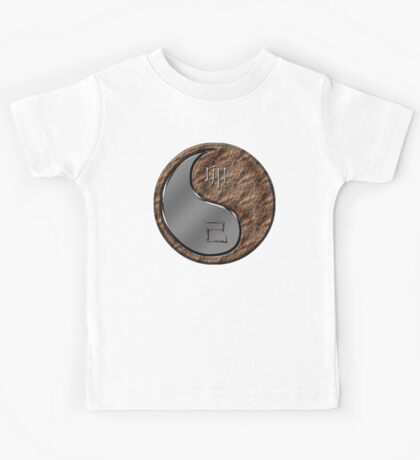 Rabbit Yin Earth Kids Tee