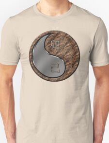 Rabbit Yin Earth Unisex T-Shirt
