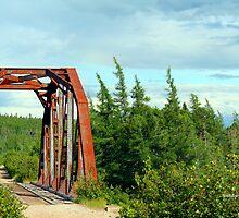 TRUSS BRIDGE by Madeline M  Allen
