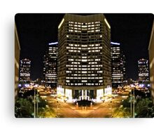 Downtown Phoenix Lights Expanded Canvas Print