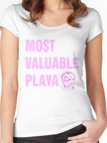 Pimpin' Park MVP Women's Fitted Scoop T-Shirt