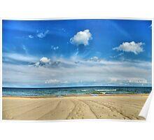 Lake Huron - Oscoda Beach, Michigan Poster