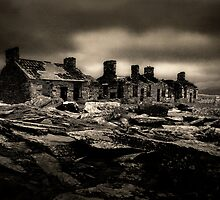 miners barracks (capel curig-north wales) by Raymond Kerr