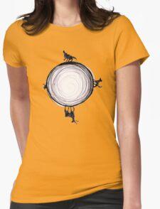 Marauders Moon Womens Fitted T-Shirt