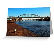 The bridge that proved to be too far Greeting Card