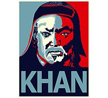 Khan Photographic Print