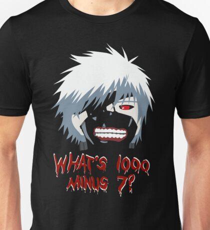 "Tokyo Ghoul - ""What's 1000 minus 7?"" (Minimalistic) Unisex T-Shirt"
