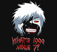 "Tokyo Ghoul - ""What's 1000 minus 7?"" (Minimalistic) Unisex T-Shirt"