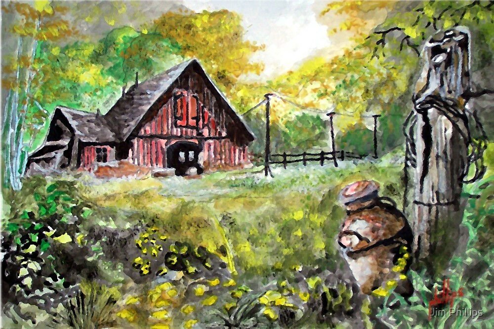 Once A Dairy Farm by Jim Phillips