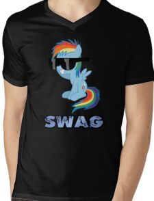 swag glass eyes scoop Mens V-Neck T-Shirt