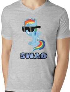 swag glass eyes scoop Mens V-Neck T-Shirt