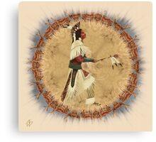 Calling Upon The Antelope Spirit Canvas Print