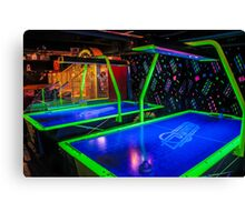 Air Hockey Canvas Print