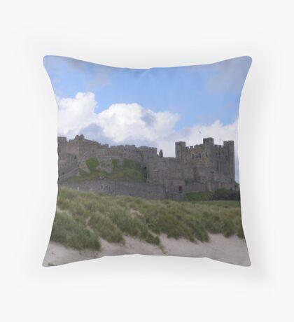 Bamburgh castle,Northumberland. Throw Pillow