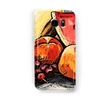 Eat Your Fruit and Vege - digitally enhanced 2 Samsung Galaxy Case/Skin