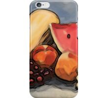 Eat Your Fruit and Vege - digitally enhanced 3 iPhone Case/Skin