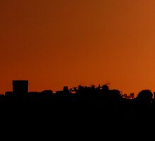 Silhouette of Edinburgh by Andrew Ness - www.nessphotography.com