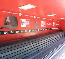 Chase Field Dugout by KLPhair