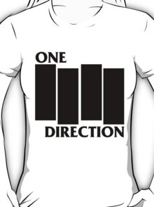 ONE DIRECTION X BLACK FLAG T-Shirt