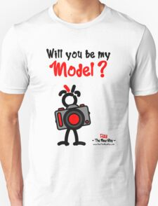 Red - The New Guy - Will you be my Model ? T-Shirt