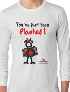 Red - The New Guy - You've just been Flashed ! Long Sleeve T-Shirt