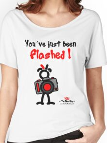 Red - The New Guy - You've just been Flashed ! Women's Relaxed Fit T-Shirt