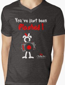 Red - The New Guy - You've just been Flashed ! Mens V-Neck T-Shirt