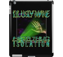 LIL UGLY MANE - MISTA THUG ISOLATION (VINYL COVER) iPad Case/Skin