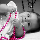 A Baby and her Beads!  by AngelPhotozzz