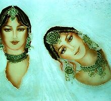 """""""Fantastic Faces"""" - Joint Colloboration 2 by Shree"""