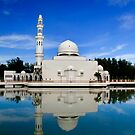 White Mosque by Steven  Siow