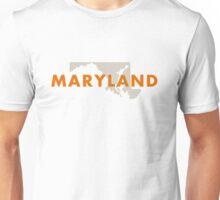 Maryland - Red Unisex T-Shirt