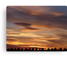 Sunset 1 21-07-08 Canvas Print