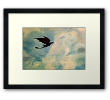 Toothless in the Sky Framed Print