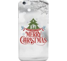 Merry Christmas. iPhone Case/Skin