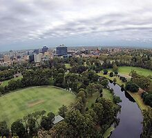 Over Parramatta Park  by ©Josephine Caruana
