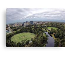 Over Parramatta Park  Canvas Print