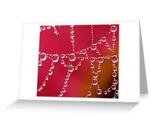 Pearls of Reflections Greeting Card