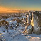 Frozen Plateau of Mount Wellington by Rod Kashubin