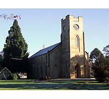 Longford Anglican Church Photographic Print