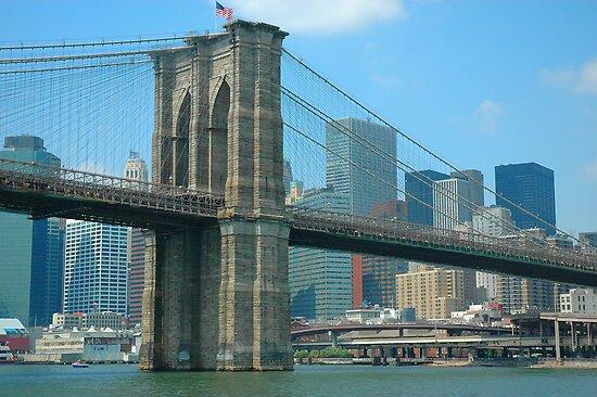 Brooklyn Bridge 08 by joan warburton