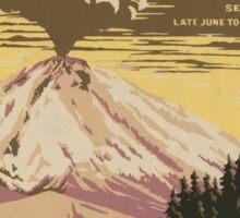 Lassen Volcanic National Park Sticker