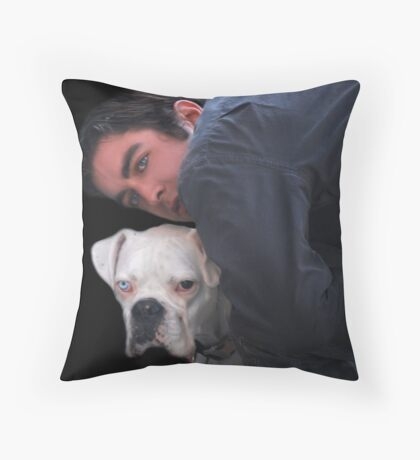 Good Boys Throw Pillow