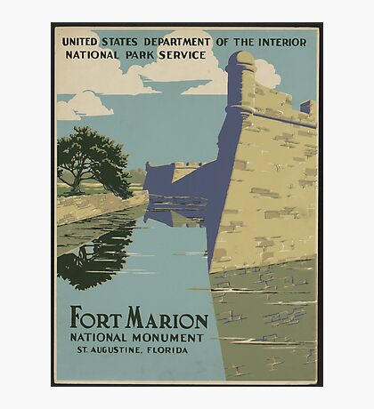 Ft. Marion Photographic Print