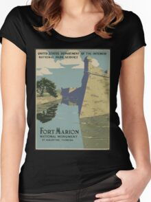 Ft. Marion Women's Fitted Scoop T-Shirt